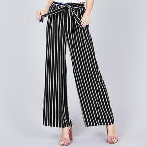 Pants - Black Wide Leg Pants